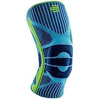 "Bauerfeind Kniebrace ""Knee Support"" Unisex, 1 sportkniebandage voor joggen en voetbal, kniebrace met siliconen ring na…"