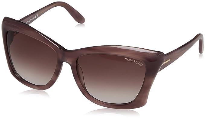 Tom Ford Gafas de Sol Lana (59 mm) Violeta: Amazon.es: Ropa ...