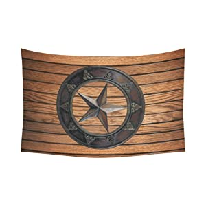 Unique Debora Custom Wall Tapestry Texas Star 60x51 Inch Cotton Linen Tapestry Wall Hanging Art 60WD77