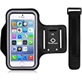 VanteexPro Armband for iPhone 7, Sweatproof Neoprene Sports Armband for iPhone 6 6s for Running, Jogging, Workout, Fitness
