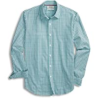 Goodthreads Men's Standard-Fit Long-Sleeve Micro-Check Shirt