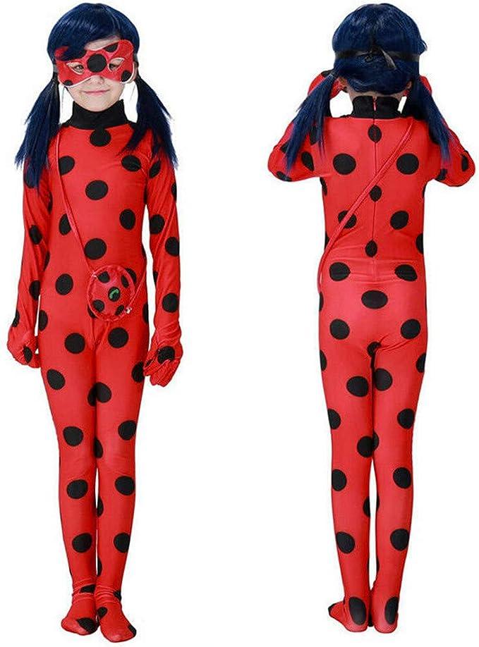Disfraz de Mariquita para niñas de Princesa, Disfraz de Halloween ...