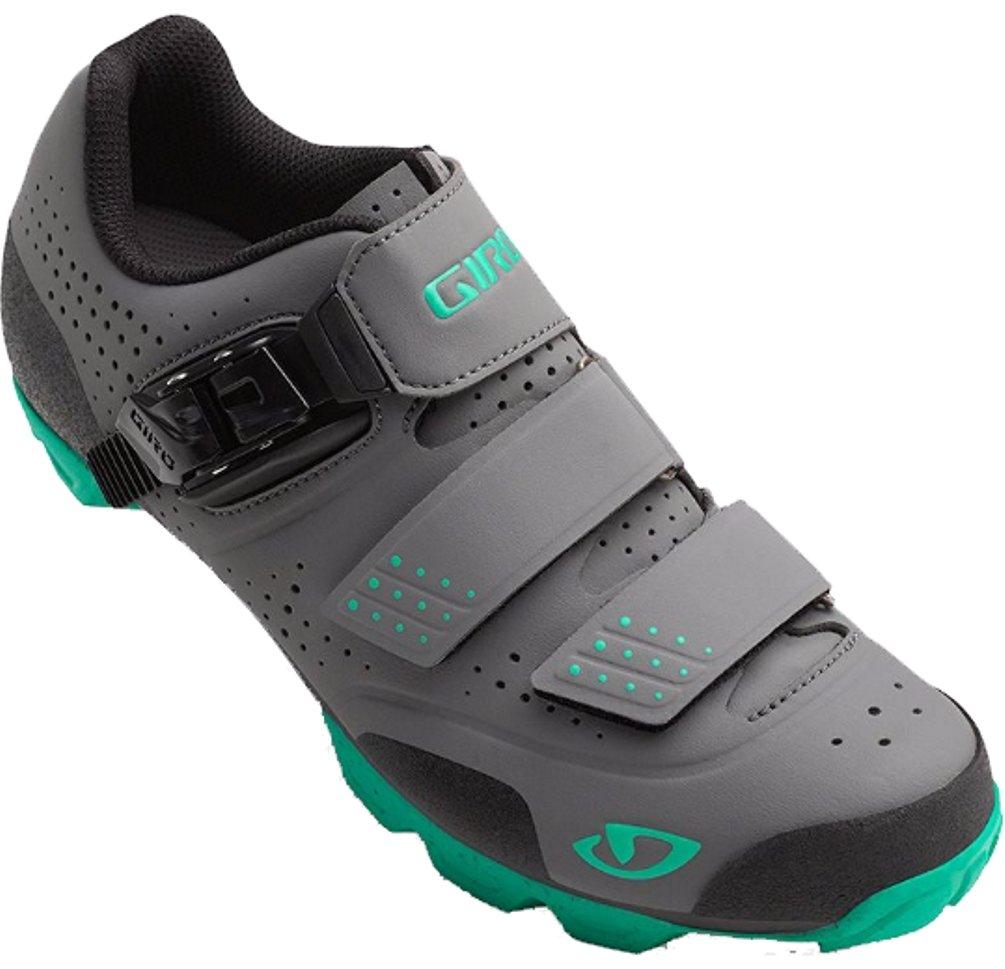 Giro Womens Manta R Dirt Cycling Shoes (Charcoal/Turquoise - 37) by Giro