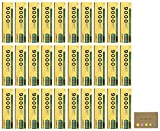 Uni Mitsubishi 9000 Pencil, 2H, 30-pack/total 360 pcs, Sticky Notes Value Set