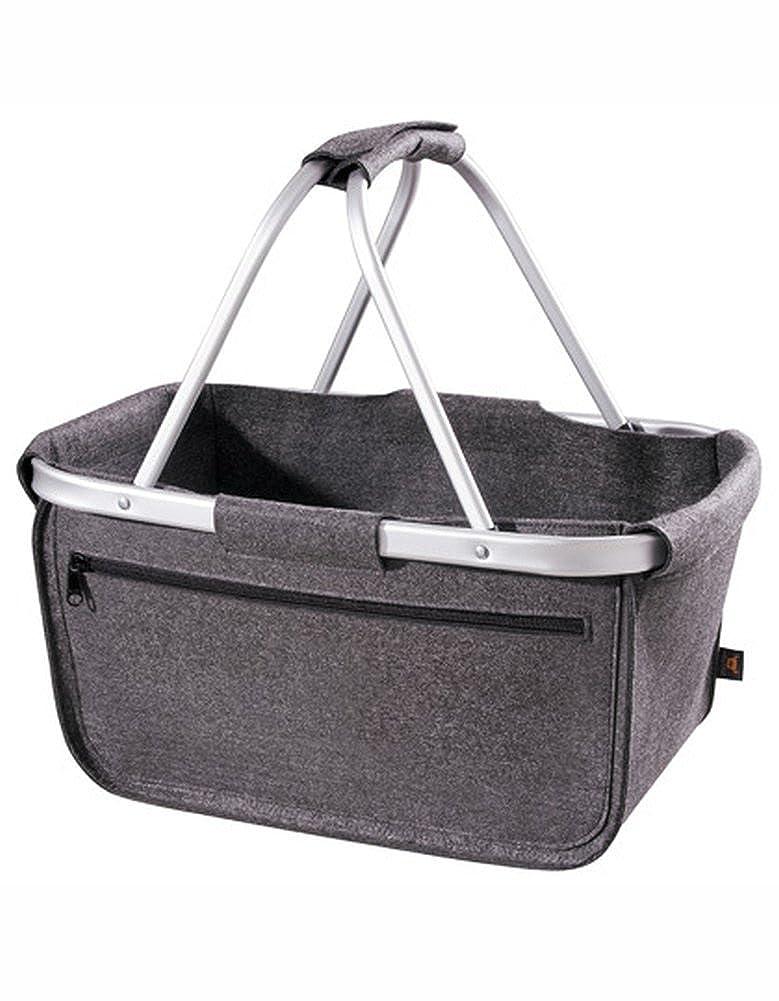 Halfar Felt Shopper Basket Tasche Einkaufstasche Korb Beutel Einkaufsbeutel Einkaufskorb Farbe:Anthracite