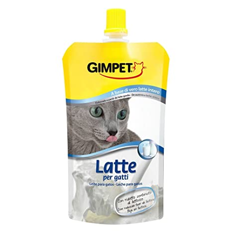 GIMPET Leche para gatos ml.200 - Comida especial de gatos