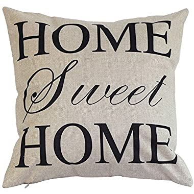18  X18  Square Vintage Throw Pillow Case Shell Decorative Cushion Cover Pillowcase (Home)