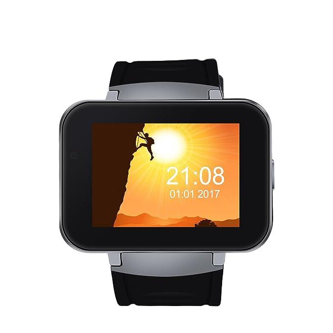DM98 WiFi Sport Smartwatch 3G / 2G Teléfono Reloj Inteligente Smartwatch Bluetooth GPS 4GB 2.2 Pulgadas de Pantalla de Sueño de Monitor para Android ...