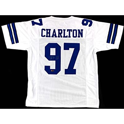 hot sales 48cd2 b8b90 Harrison Smith Signed Custom White Football Jersey ...