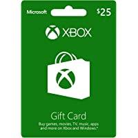Xbox $25 Gift Card (Tarjeta en Dólares Americanos)