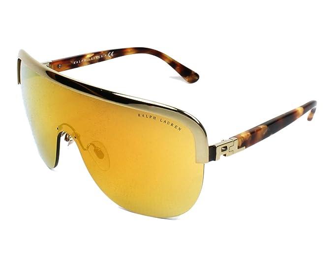 Ralph Lauren 0Rl7057, Gafas de Sol para Mujer, Antique Gold, 61