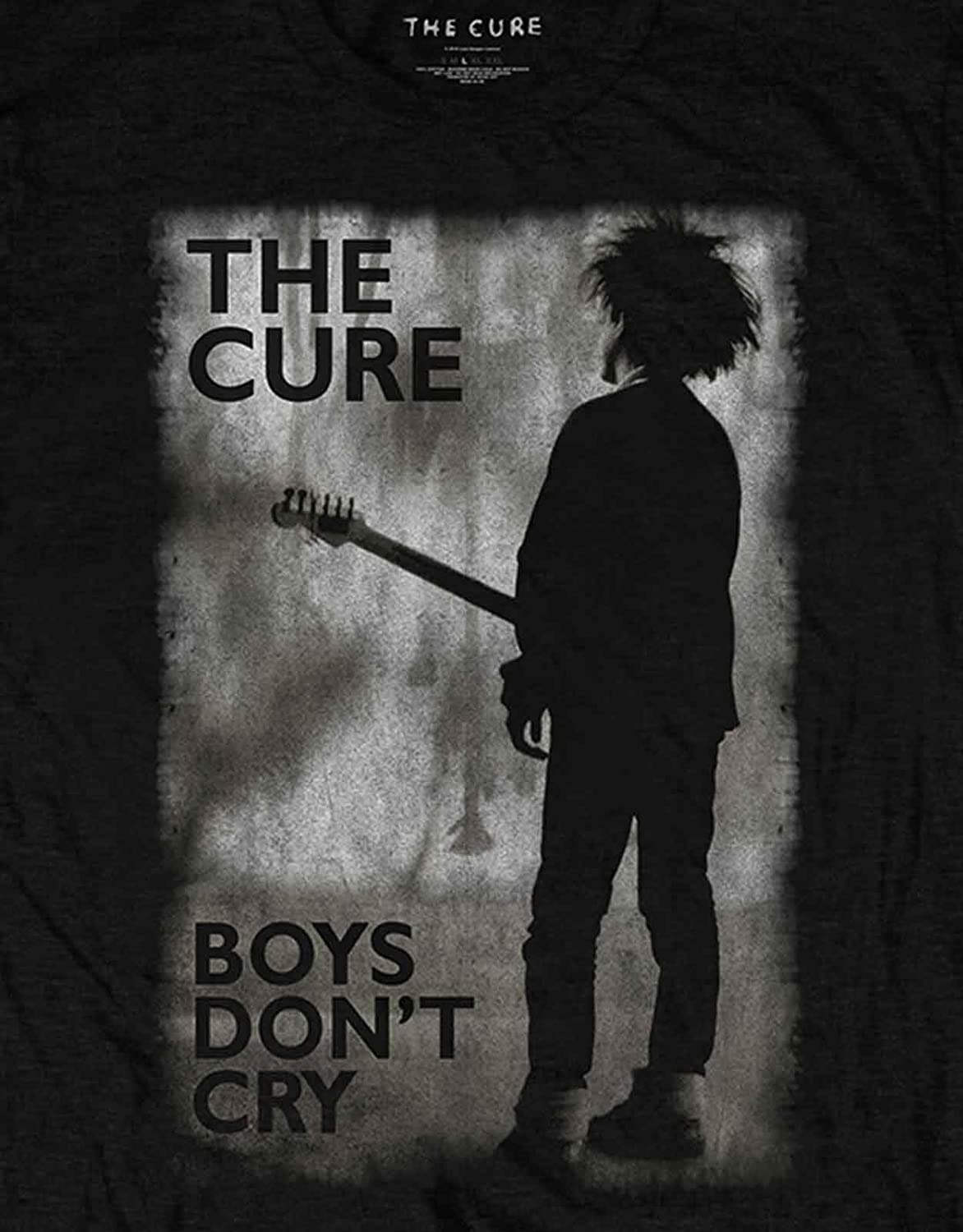 Amplified The Cure-Boys Don/'t Cry T-Shirt Homme