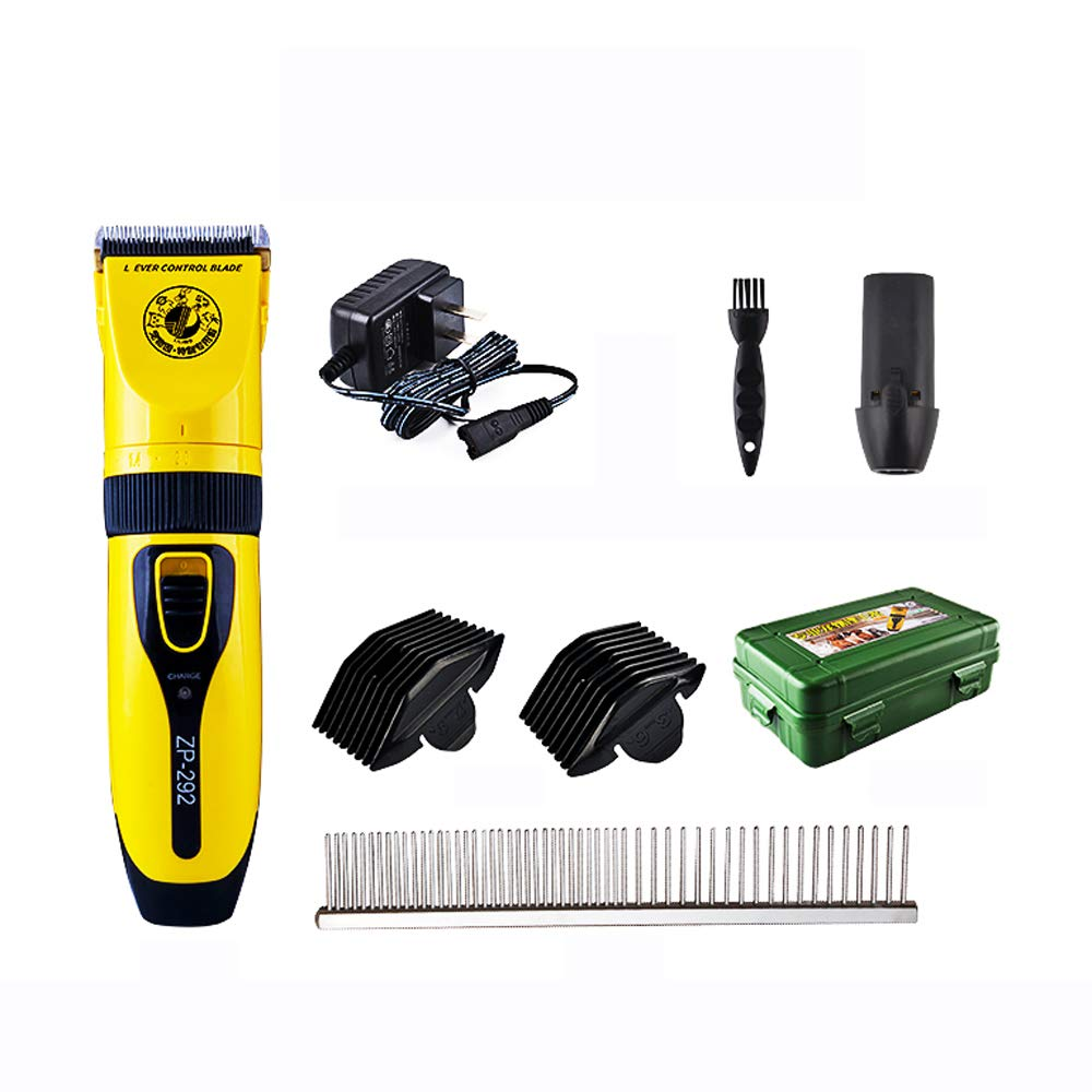 Pet Clippers Low Noise Pet Clippers Rechargeable Dog Trimmer Pet Grooming Tool Professional Dog Hair Trimmer