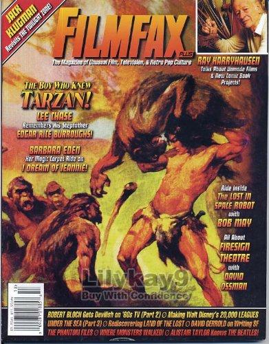 Filmfax Magazine 113 TARZAN Edgar Rice Burroughs THE LAND OF THE LOST Firesign Theatre BEATLES Barbara Eden I DREAM OF Jeannie RAY HARRYHAUSEN January 2007 C (Filmfax Magazine)