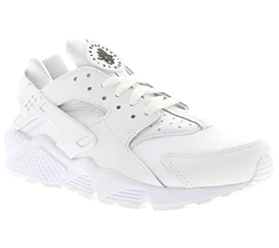 finest selection 0a8ec b8ac9 Nike Herren AIR Huarache Run PRM Laufschuhe, Blanco White-Black, 42 EU