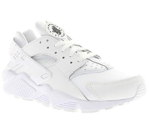 los angeles 86792 f059e Nike Men s Air Huarache Run PRM, Black Dark Grey-White, ...