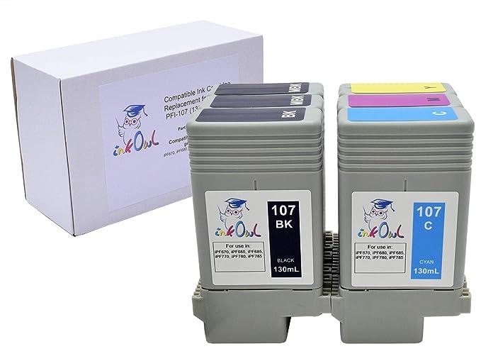 Amazon.com: inkowl – Cartucho de tinta compatible para Canon ...