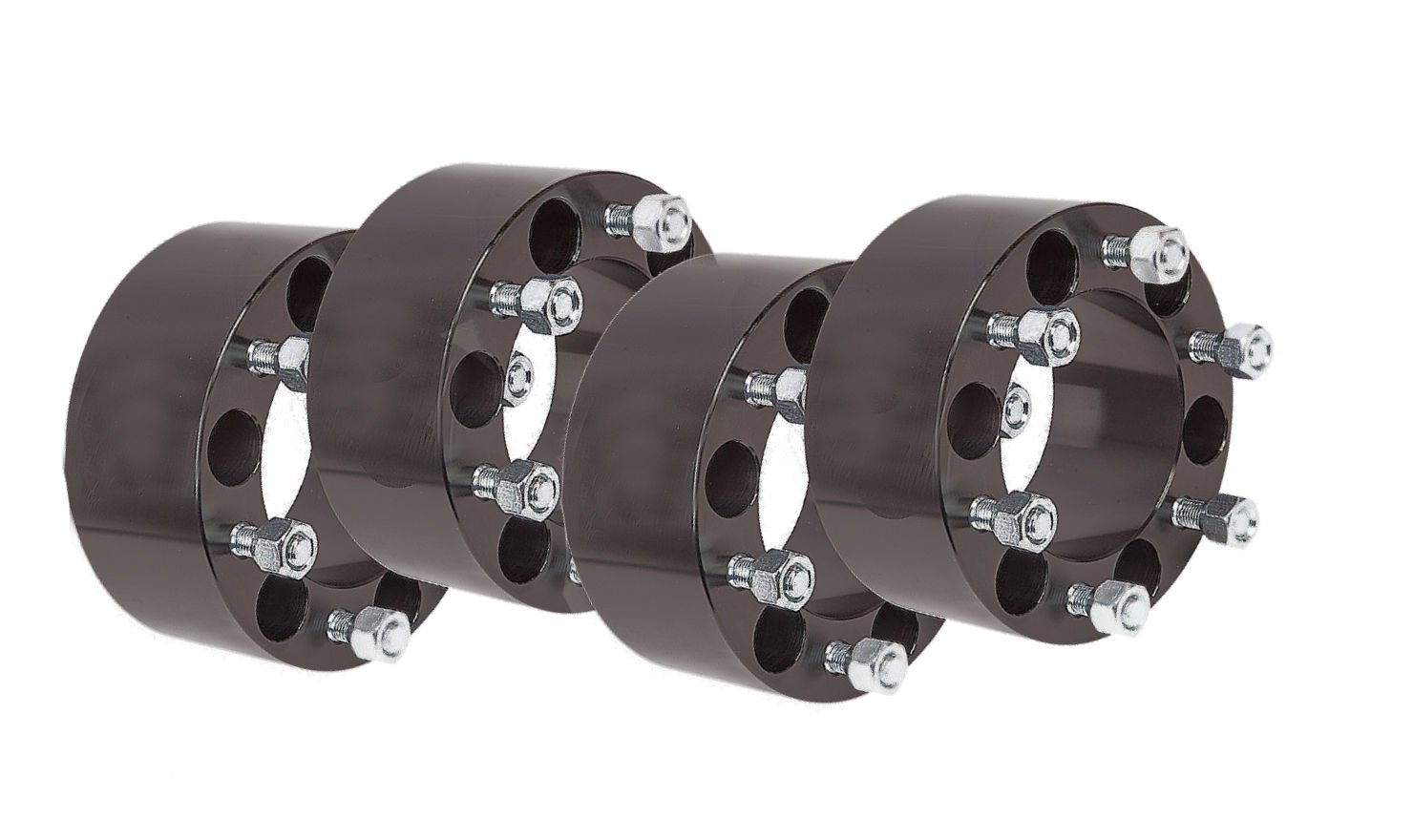 4x 1.5'' inch Wheel Spacers 6X135 Ford F150 Expedition Lincoln Navigator | 14x2 (Black)