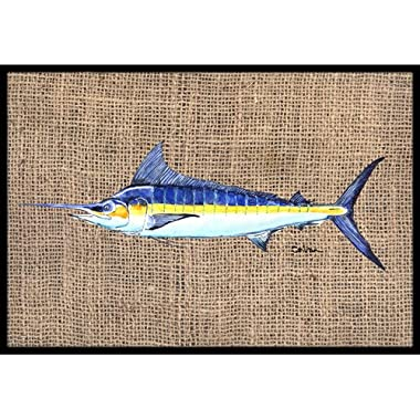 Caroline's Treasures Fish Marlin Indoor or Outdoor Doormat, 24  x 36 , Multicolor