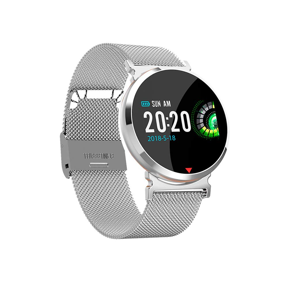 Amazon.com: AXELEL Bluetooth Smart Watch,Heart Rate Monitor ...