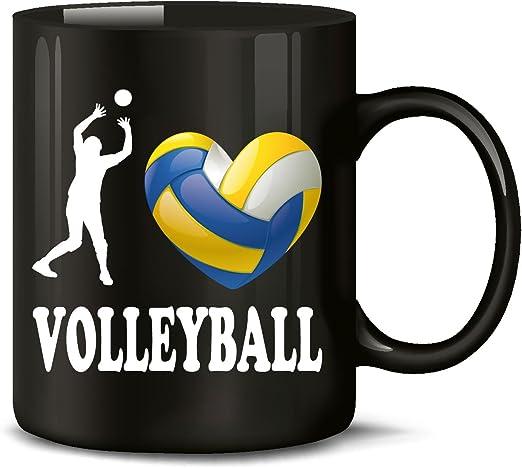 Bolsa de deportes - I Love pelota de voleibol de - Taza de café ...
