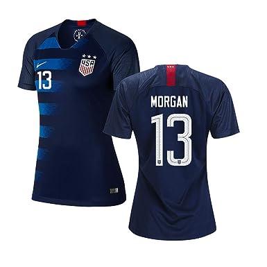 e4d3e3a77b172 #13 Alex Morgan Blue USA Womens Soccer Jersey 2018 (Runs Small)