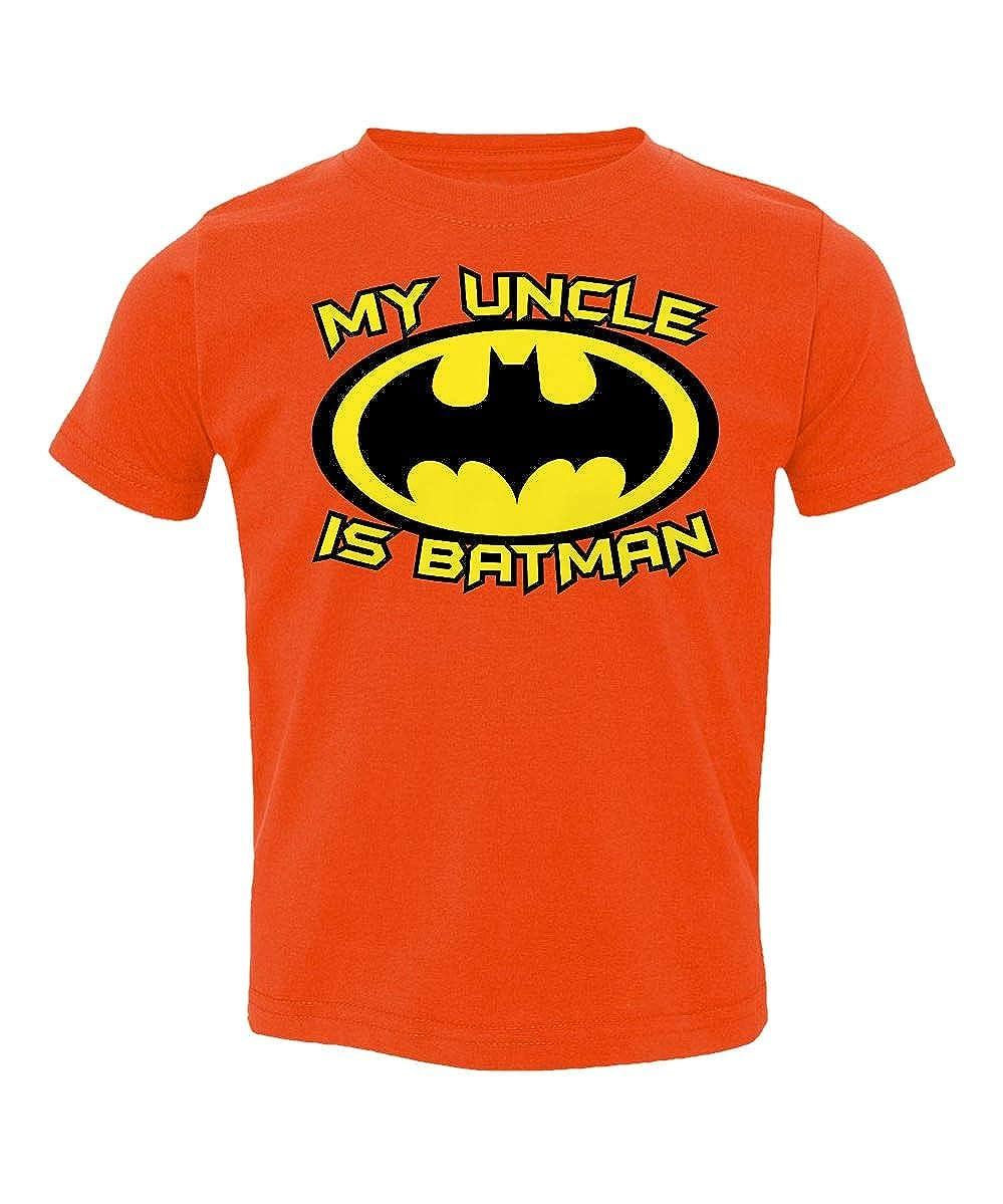 Societee My Uncle is A Bat Cute Funny Superhero Little Kids Girls Boys Toddler T-Shirt