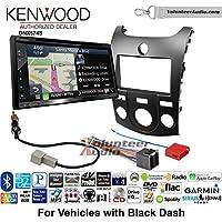 Volunteer Audio Kenwood DNX574S Double Din Radio Install Kit with GPS Navigation Apple CarPlay Android Auto Fits 2011-2013 Kia Forte (Black)