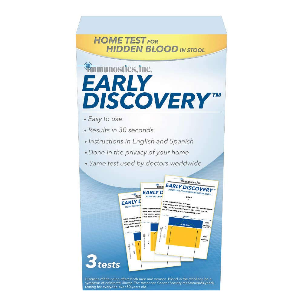 Amazon Com Ez Detect Colon Disease Test Kit 5 Test Pads