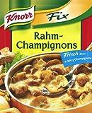 Knorr Fix creamy mushrooms (Rahm-Champignons) (Pack of 4)