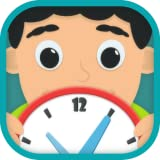 Kids learn to tell time free fun for school kids learning game free for curious boys and girls to look, interact, listen and learn