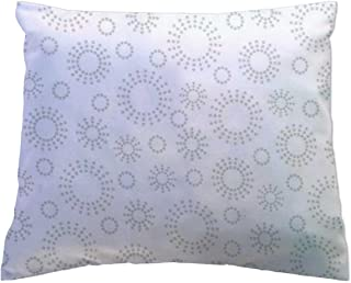 product image for SheetWorld - Toddler Pillowcase Hypoallergenic Made in USA - Grey Dot Circles 13 x 17
