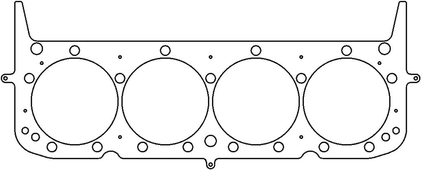 Cometic Gasket C5646-040 MLS .040 Thickness 4.100 Head Gasket for Small Block Chevy LT1