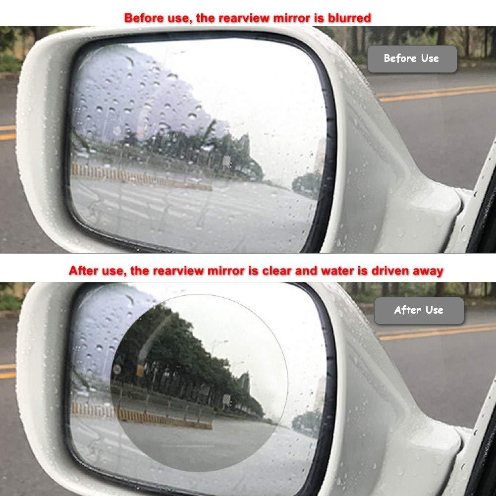 Anti Fog Car Rearview Mirror Film Anti Water Mist Anti Glare Anti