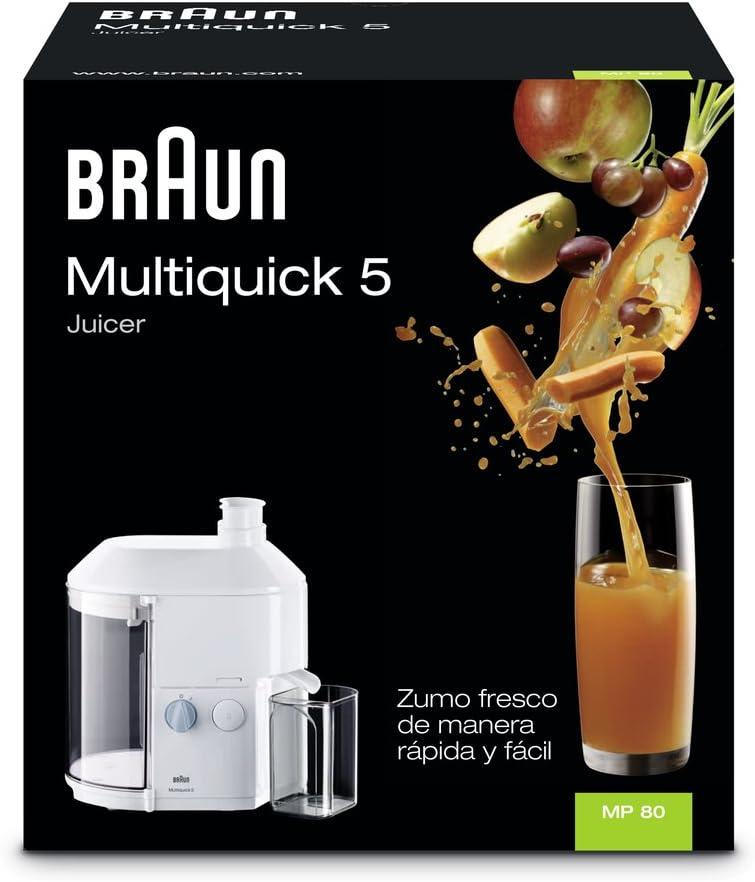 Braun MP80 Multipress Automatic - Licuadora (600 W): Amazon.es: Hogar