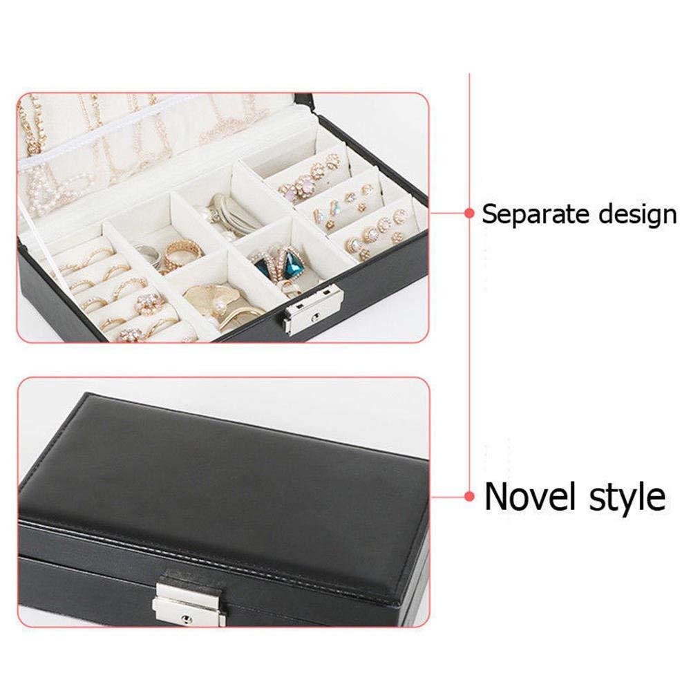 Ornaments Storage Case Organizer Jewelry Simple Box Travel Portable Multifunctional