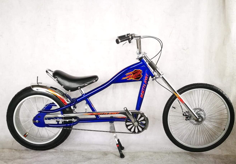 Rosetta Bicicletta sportiva lowrider in stile chopper Harley