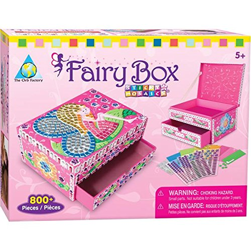 Orb Factory Magnetic Mosaics - Orb Factory Sticky Mosaic Fairy Box