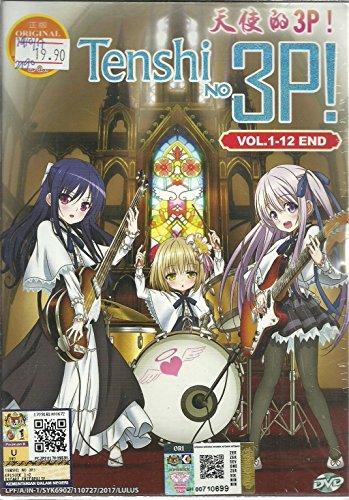 TENSHI NO 3P! - COMPLETE ANIME TV SERIES DVD BOX SET (12 EPISODES)