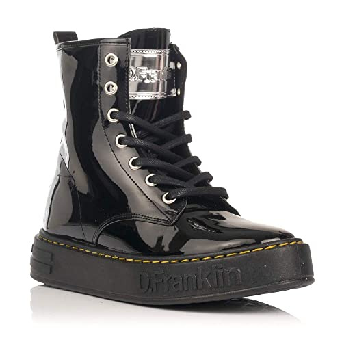 11a1d984 Botas Planas 10150 D. Franklin Negro: Amazon.es: Zapatos y complementos