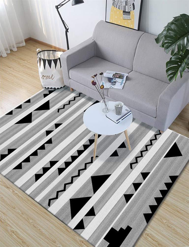 Insun Teppich Skandinavischer Stil Teppich Moderner Geometrische Formen Teppich Anti Rutsch Abwaschbarer Stil 24 160x200cm B07KBYXV2S Teppiche