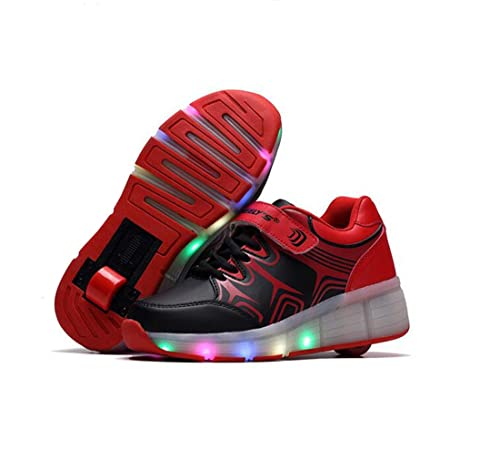 Con Pamray 7 Light Bambini Scarpe Up Per Led Rotelle Colore eQBoWdrCx