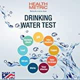 Drinking Water Test Kit For Municipal Tap and Well Water - Simple Testing Strips For Lead Copper Bacteria, Nitrates, Chlorine and More