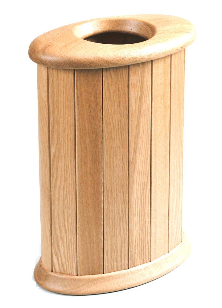 旭川家具 ササキ工芸 天然木 くずかご 楕円 L ナラ TB-OV-L-N B00M7LUKKU Large ナラ ナラ Large