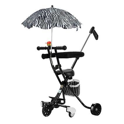 Amazon.es: HSDDA Carro de bebé Ligero La Mano de los niños ...