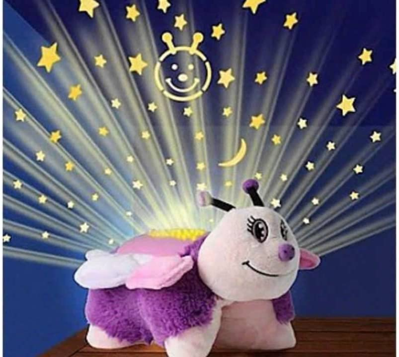 Amazon Com Pillow Pets Dream Lites Pink Butterfly 11 Toys Games