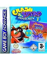 Crash and Spyro Super Pack Volume 1: Crash N-Tranced/Spyro: Season of Ice (GBA)