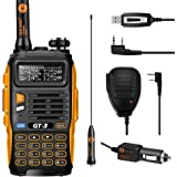 Baofeng BF GT-3 MARK II Transceiver Talkie-Walkie Dual-Band DTMF RX CTCSS/DCS BCLO Two Way Radio Chipsets Améliorés * Version la plus Nouvelle en 2014 avec les Fonctions Renforcées et une Notice Conviviale + Haut-Parleur Déporté
