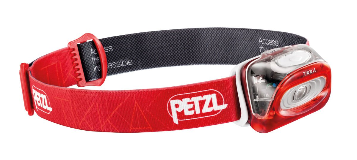 Petzl Tikka Headlamp Red One Size by Petzl