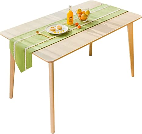 Zhang Table Runners Green Modern Simple Dining Table Table Flag Decoration Home Restaurant Table Tea For Dining Table Decor And Accessories Color 02 Size 35x220cm Home Kitchen